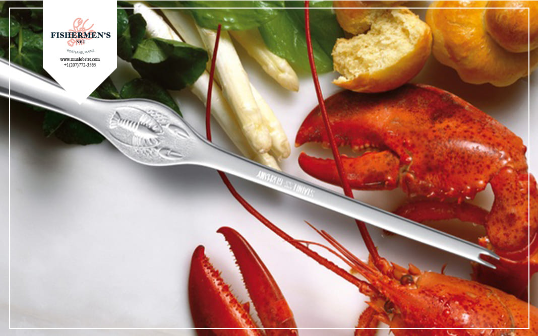 A lobster fork is an essential tool for you to enjoy your lobster