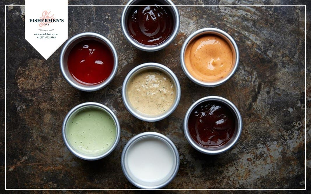 Flavored dips sauce