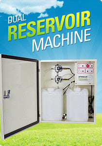 Sprinkler Magician Dual Reservoir Machine - Shipping Included Pricing