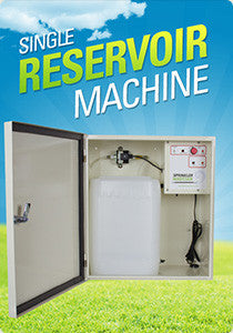 Sprinkler Magician Single Resevoir Machine - Shipping Included Pricing