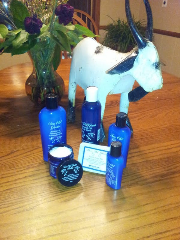 Two Old Goats Lotion 3 Pack Combo - Shipping Included Pricing