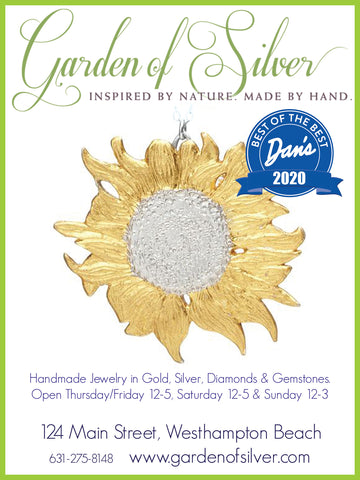 Garden of Silver Best of the Best Jewelry Store, Dan's Papers 2020