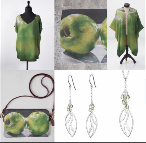 Garden of Silver jewelry and Eileen Baumeister McIntyre art and fashions