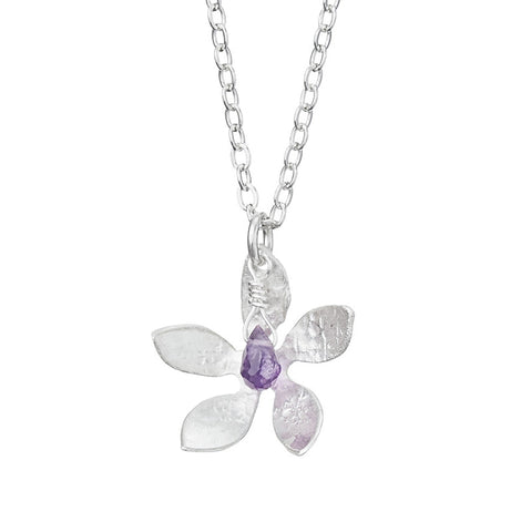 Amethyst Bloom Necklace