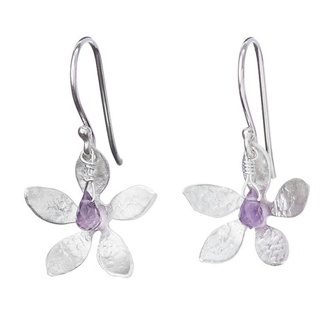 Amethyst Blooms Earrings