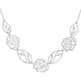 Bouquet of Roses Necklace