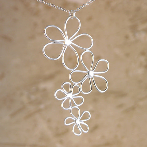 Floating Flowers Pendant