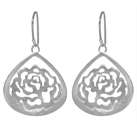 Heirloom Rose Earrings