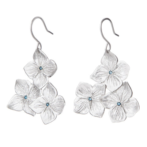 Hydrangea Blooms Earrings