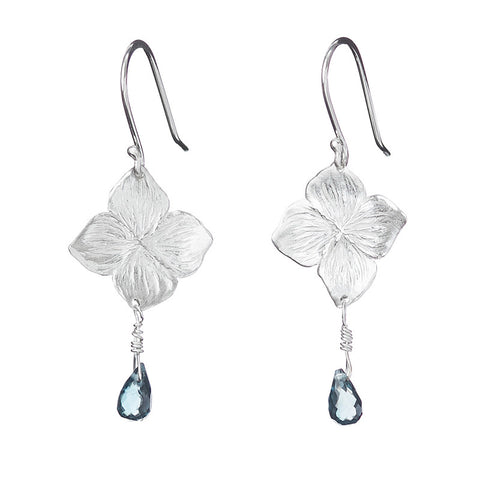 Hydrangea Rain Earrings