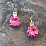Pretty in Pink Earrings by Cathleen Helene