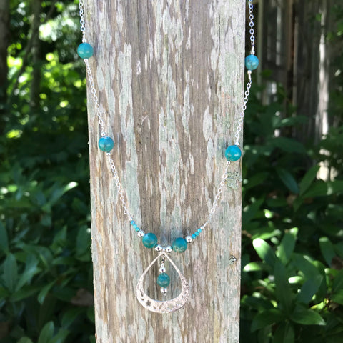 Turquoise Garden Necklace