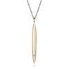 Gold & Diamond SurfLuxe Necklace by Jane Bartel at Garden of Silver in Westhampton Beach, Long Island, New York.