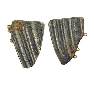 Beached Earrings by Jeanette Walker available at Garden of Silver in Westhampton Beach, New York