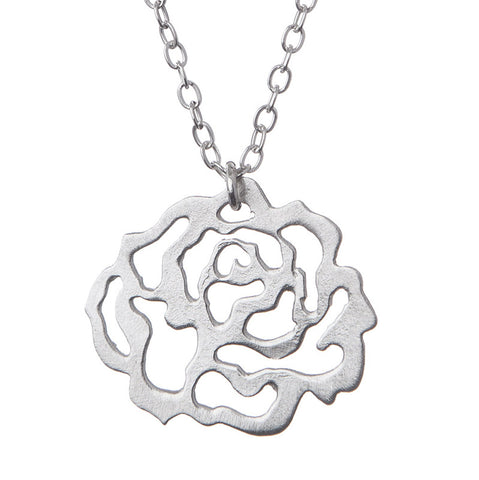 Lacy Rose Necklace