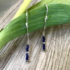 Lapis Lazuli Love Earrings