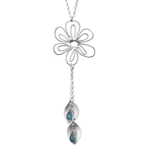 Moonshadow Blossom Necklace