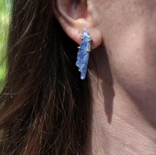 Prong Set Waterfall Earrings by Emilie Shapiro available at Garden of Silver handmade jewelry in Westhampton Beach, New York, Hamptons.
