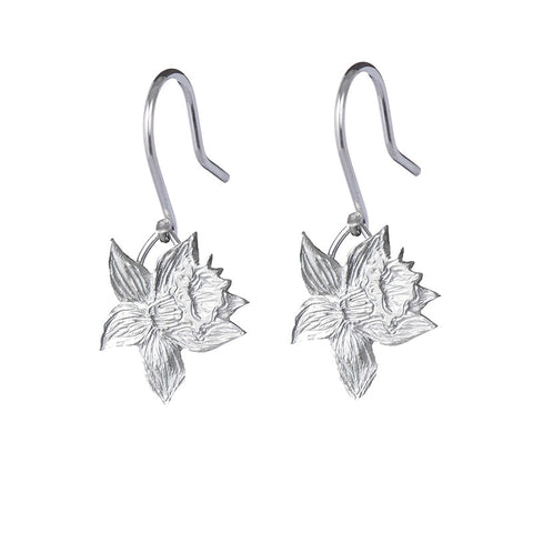 Single Daffodil Earrings