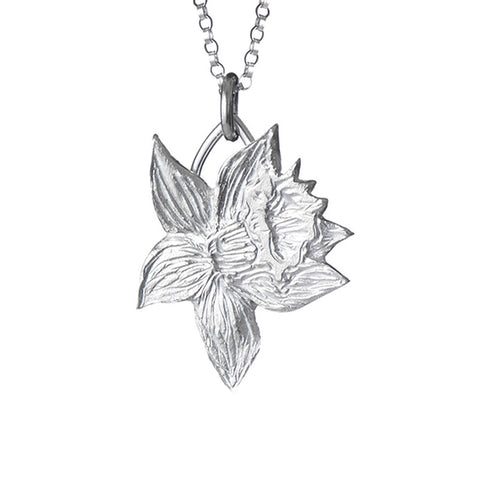 Single Daffodil Pendant