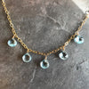 Tangled Up In Blue Necklace by Garden of Silver in Westhampton Beach, New York.