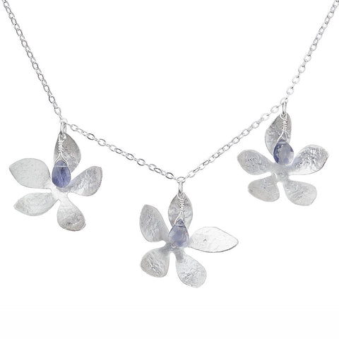 Tanzanite Blooms Necklace