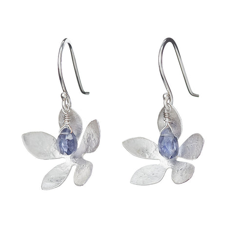 Tanzanite Blossoms Earrings