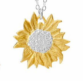 Tiny Golden Sunshine Necklace