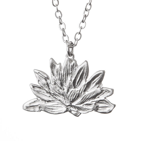 Tiny Waterlily Necklace