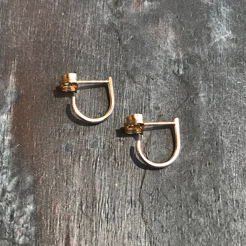 Gold Hugs Earrings by Colleen Mauer