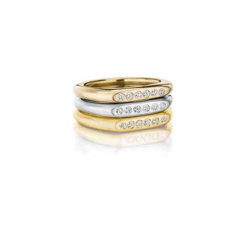 22K Gold and Diamonds ring by Jane Bartel at Garden of Silver in Westhampton Beach, New York, Hamptons