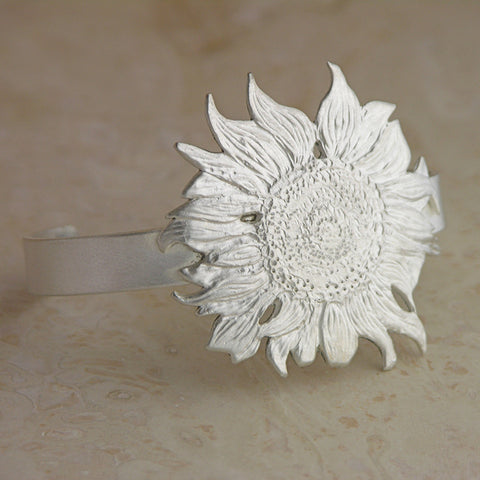 Sunflower Bracelet by Garden of Silver in Westhampton Beach, NY www.gardeofsilver.com
