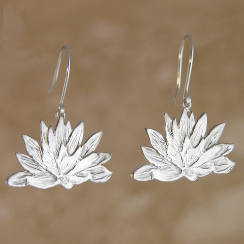 Waterlily Earrings