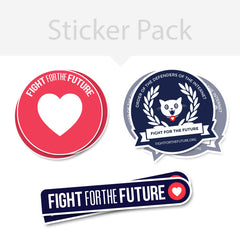 FFTF sticker pack