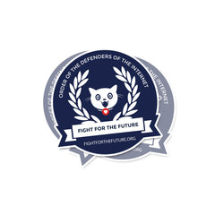 Defenders of the Internet seal sticker