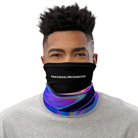 Ban Facial Recognition Neck Gaiter