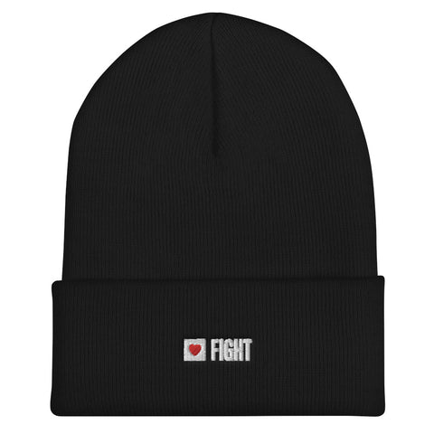Fight Beanie (Black or Red)