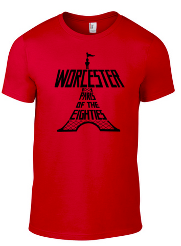 """Worcester: Paris of the Eighties"" t-shirt"