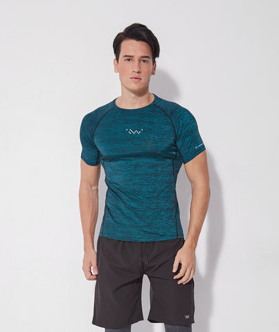 Focus Rapid Short Sleeve Tee - Qing Green