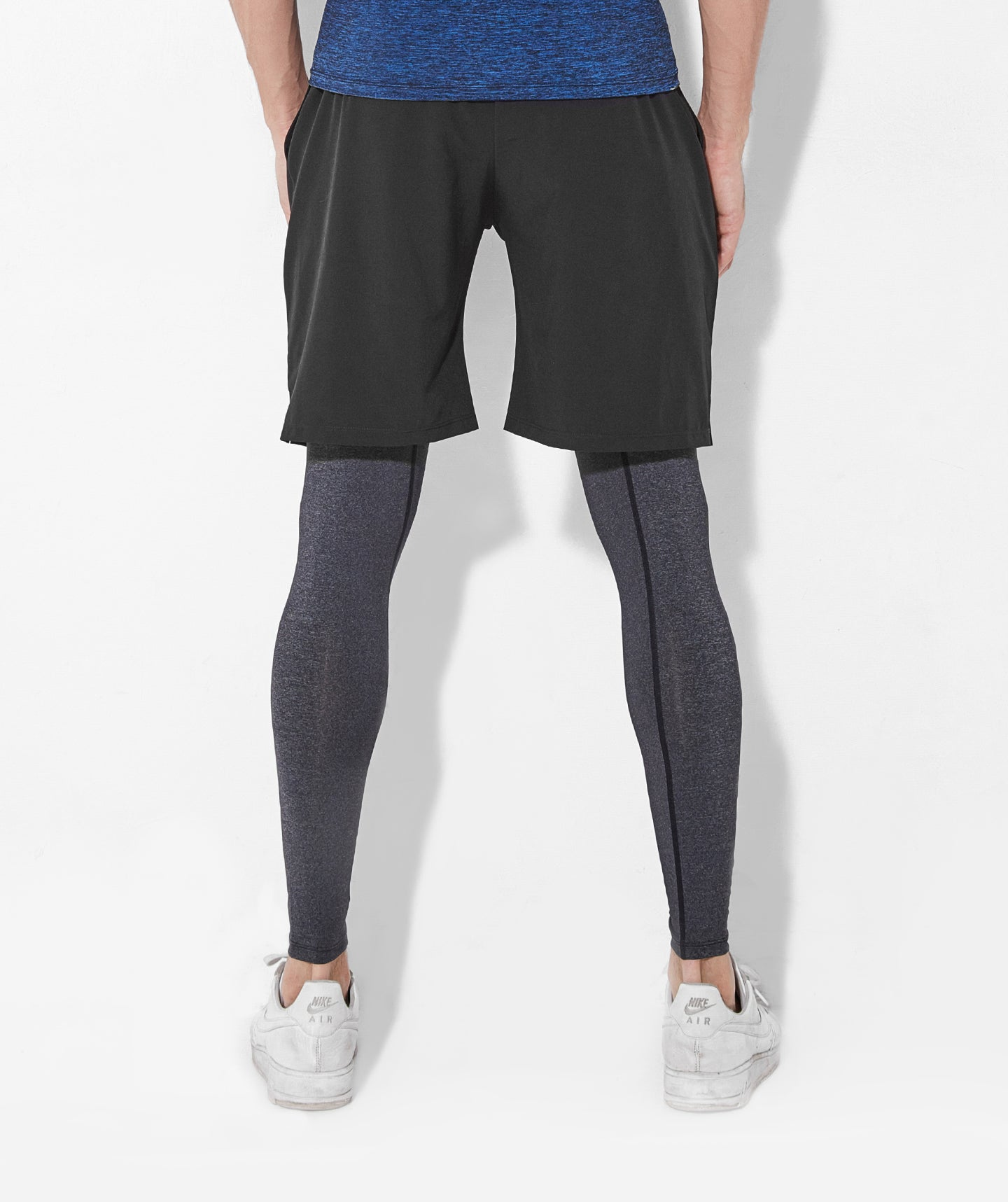 Focus Rapid Shorts Leggings Combo  - Black