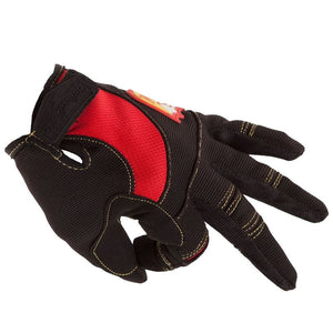 S&M Biltwell Shield Glove - Black/Red