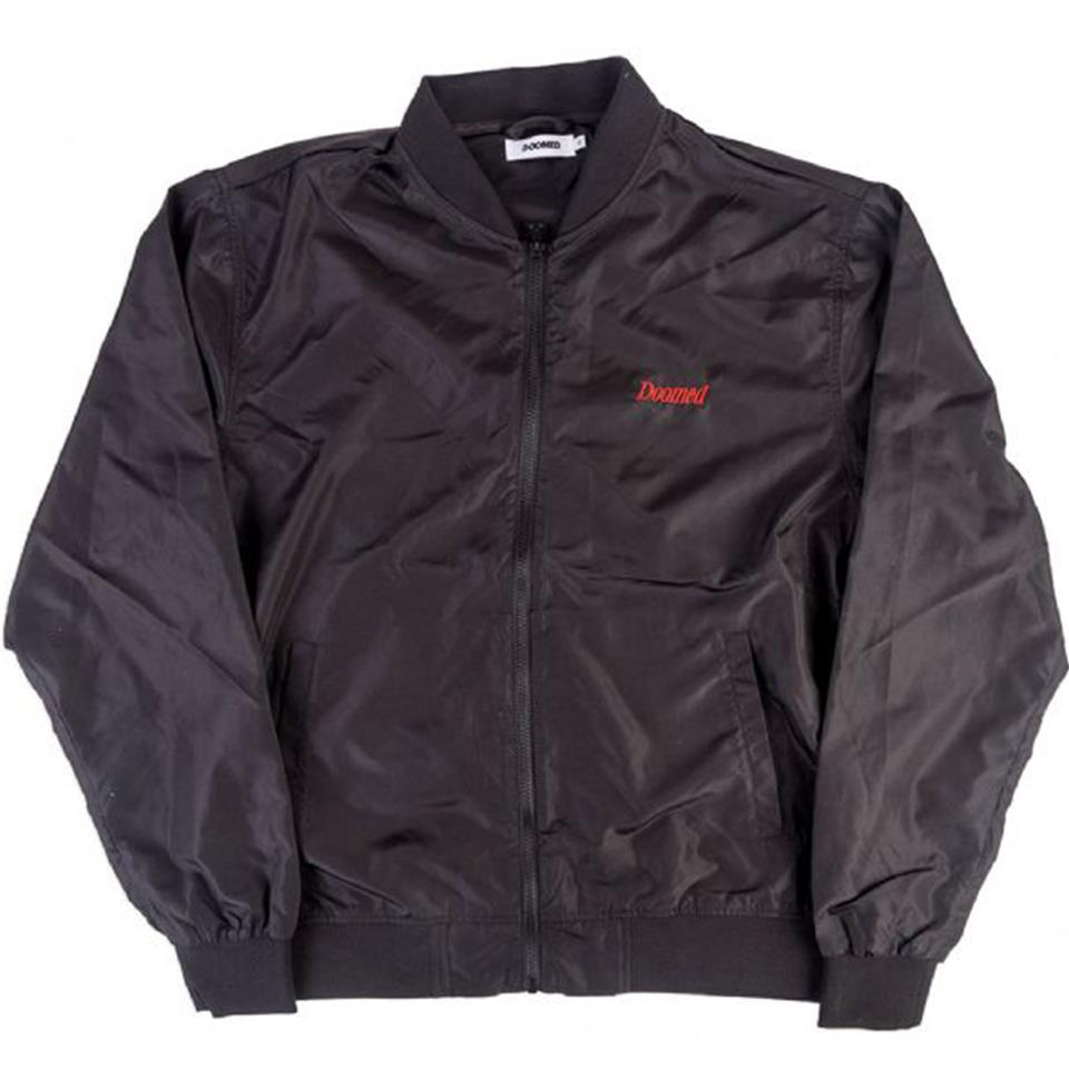 Doomed Bomber Jacket - Black