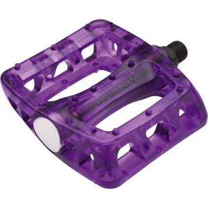 Odyssey Twisted Plastic Clear Pedals