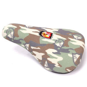 S&M Fat Pivotal Kevlar Seat - Camo Shield Wrap