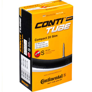 "Continental 20"" Compact Presta Valve Race Inner Tube"