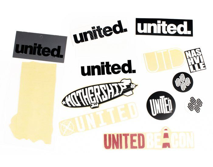 United Assorted Sticker Pack