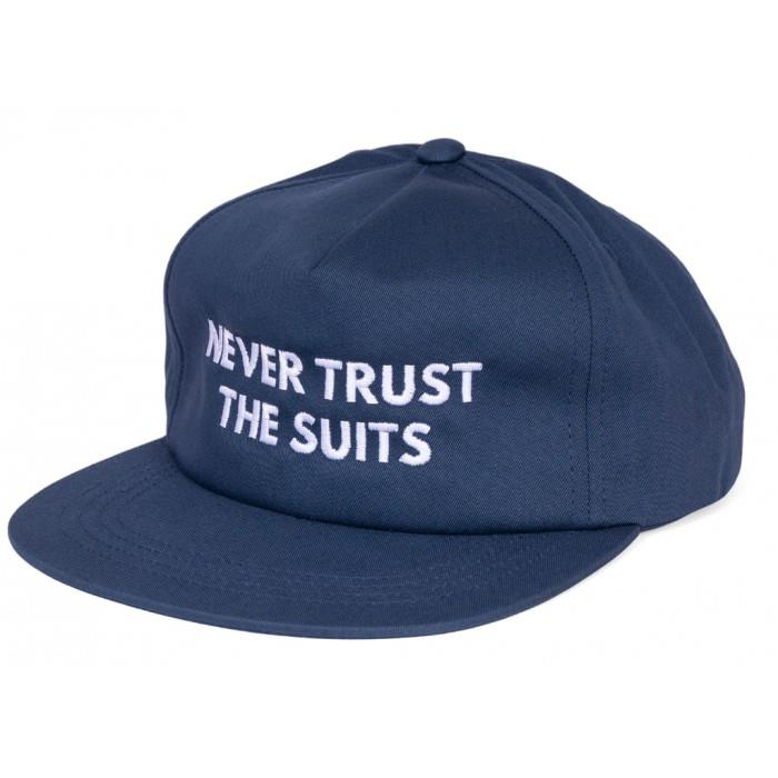 Shadow The Suits Snapback Hat - Navy