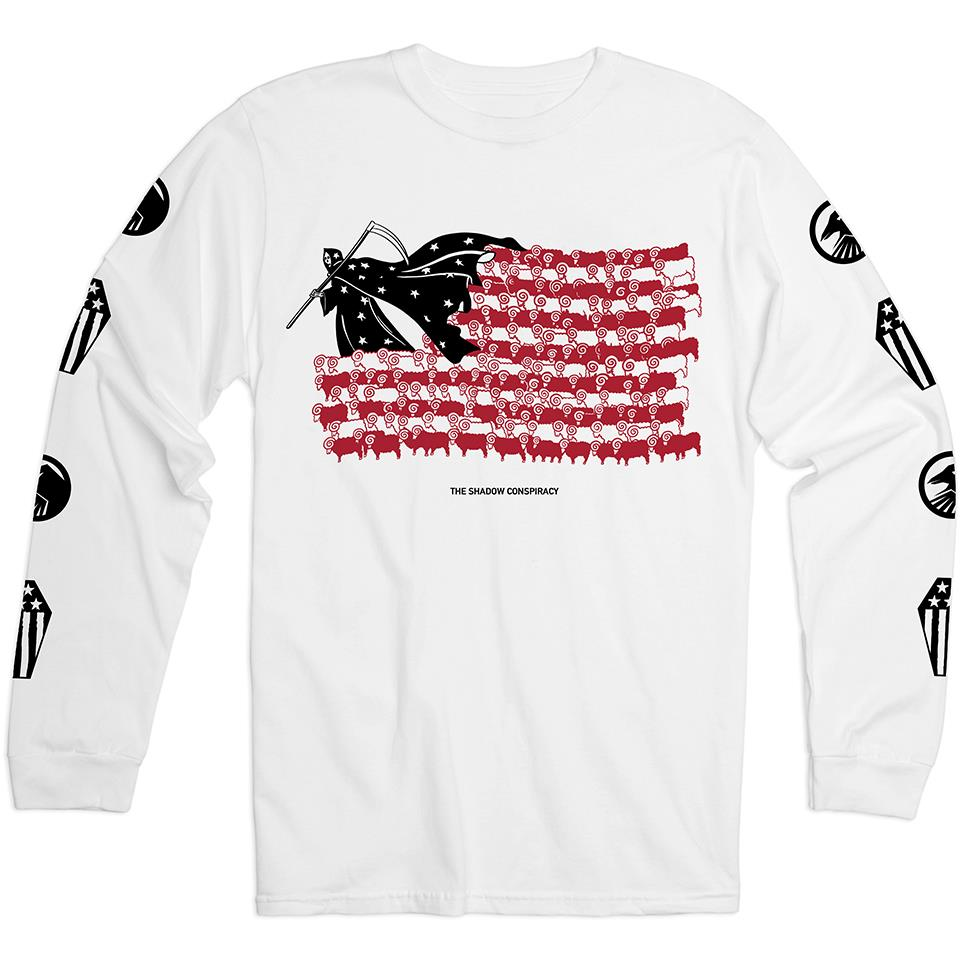 Shadow BCWYF Long Sleeve T-Shirt - White