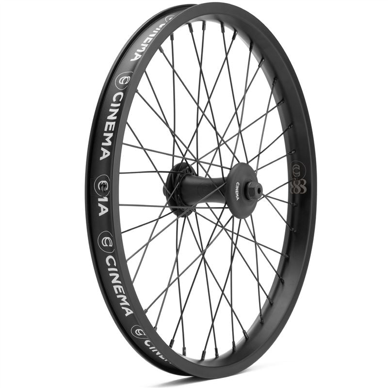 Cinema 888 VX2 Front Wheel - Black