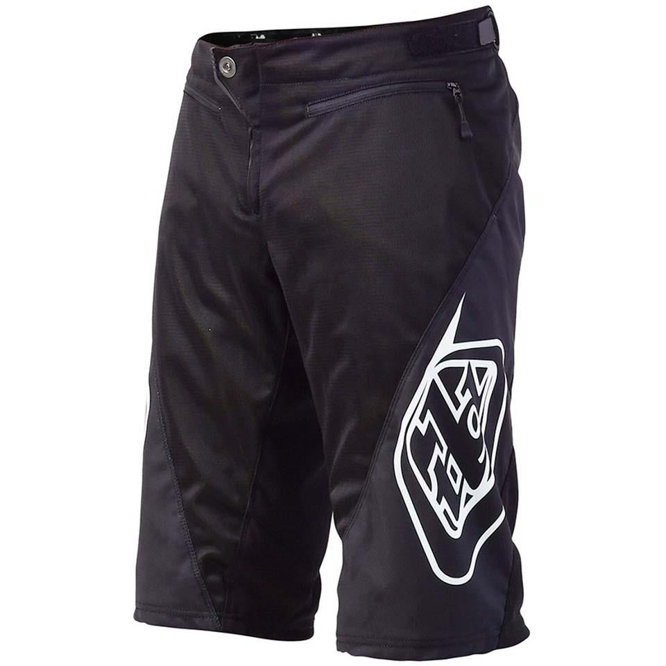Troy Lee Sprint Youth Race Short - Black